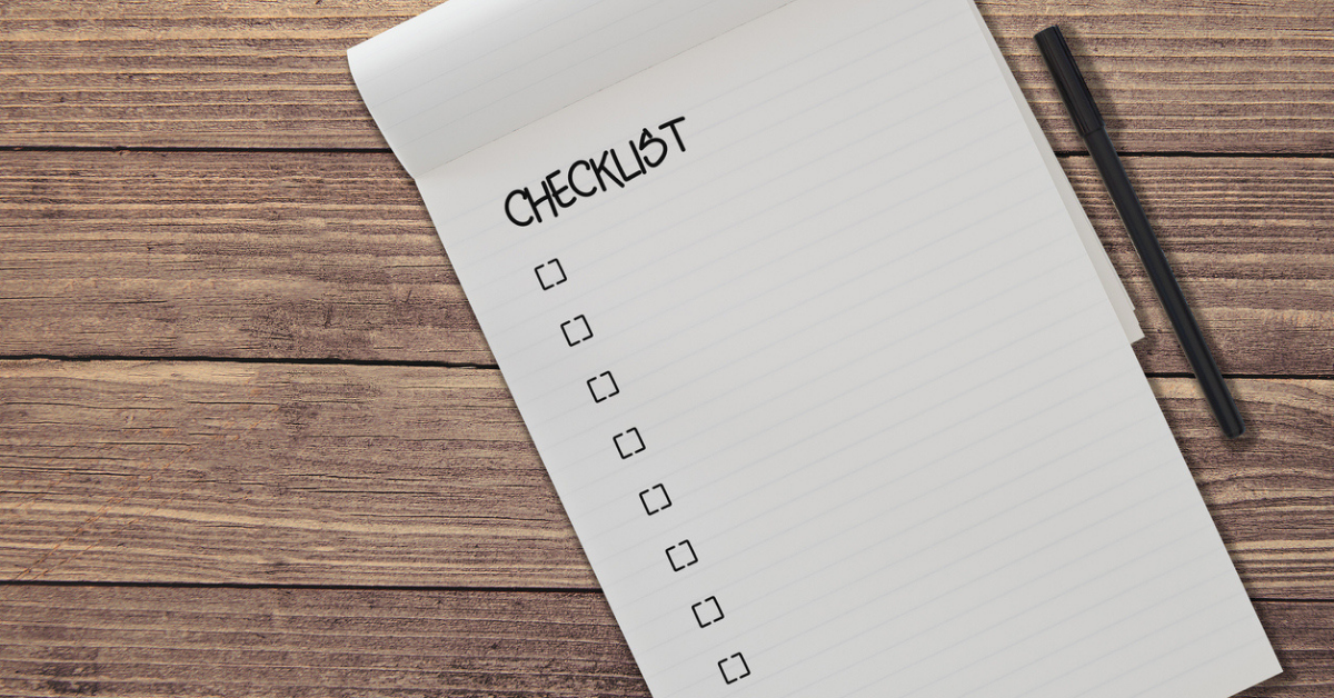 Regression Testing Checklist - Right Every Time